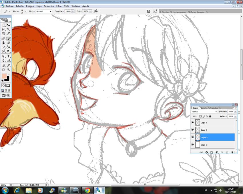 Curso Gratis Desenhar Manga Menina Magica, Www